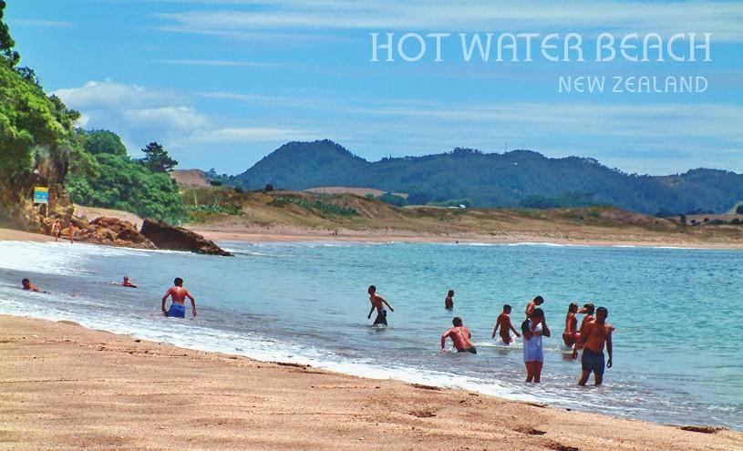 Hot Water Beach - The Coromandel, NZ